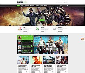GamesZone WordPress Theme by ThemeFuse