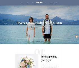 Hitched WordPress Theme by ThemeFuse