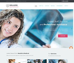 Wellness WordPress Theme by ThemeFuse