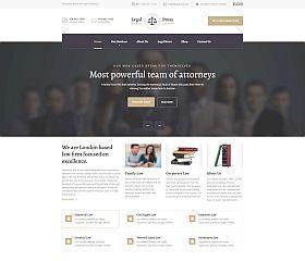 LegalPress WordPress Theme by ThemeIsle