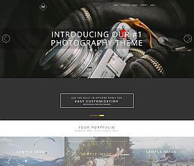 Rokophoto WordPress Theme by ThemeIsle
