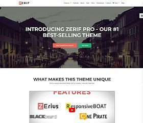 Zerif Pro WordPress Theme by ThemeIsle
