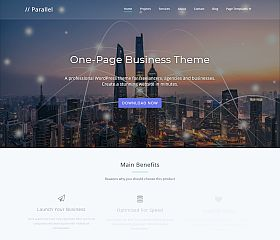 Parallel WordPress Theme by Themely