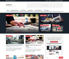 Verb WordPress Theme by Themely