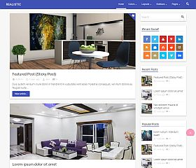 Realistic WordPress Theme by Themient