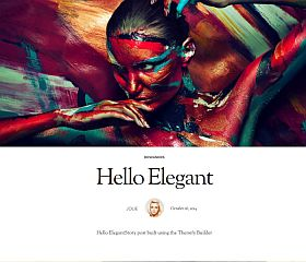 Elegant WordPress Theme by Themify