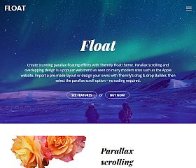 Float WordPress Theme by Themify