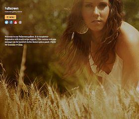 Fullscreen WordPress Theme by Themify