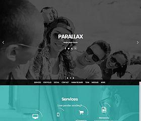 Parallax WordPress Theme by Themify