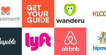 Travel Startup Logos