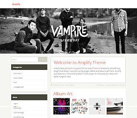Amplify WordPress Theme by UpThemes
