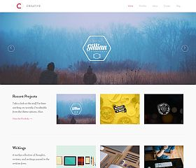 Creative WordPress Theme by UpThemes