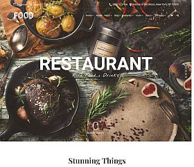 Food WordPress Theme by Visualmodo