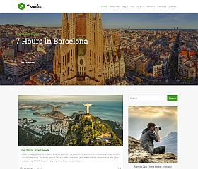 Traveler WordPress Theme by Visualmodo