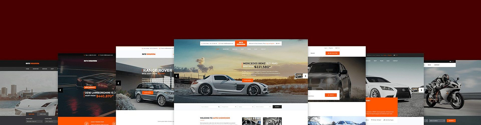 WordPress Themes for Car Dealers
