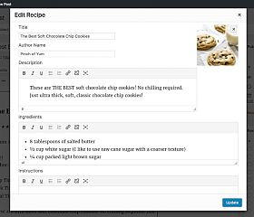 Tasty Recipes WordPress Plugin by WP Tasty