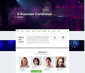 Event WordPress Theme by WPlook
