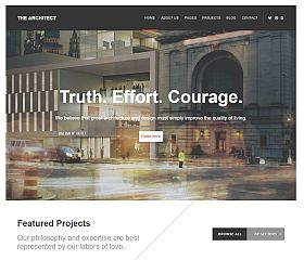 The Architect WordPress Theme by WPlook