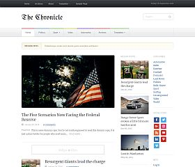 Chronicle WordPress Theme by WPZoom