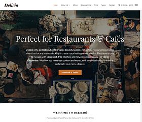 Delicio WordPress Theme by WPZoom