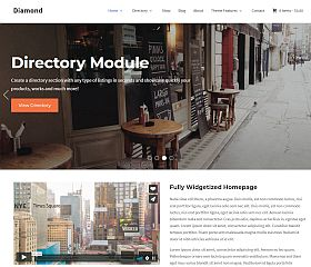 Diamond WordPress Theme by WPZoom