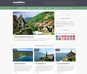 Expedition WordPress Theme by WPZOOM