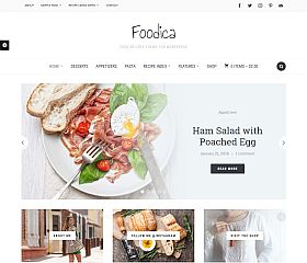 Foodica WordPress Theme by WPZOOM
