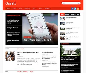Gazeti WordPress Theme by WPZoom