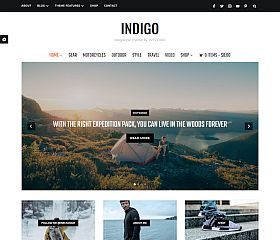Indigo WordPress Theme by WPZoom