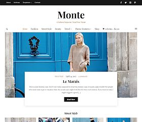 Monte WordPress Theme by WPZoom