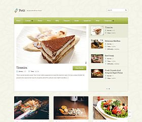 Petit WordPress Theme by WPZoom