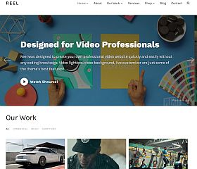 Reel WordPress Theme by WPZoom