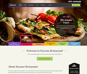 Seasons WordPress Theme by WPZoom