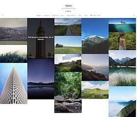 Tempo WordPress Theme by WPZOOM